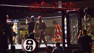 209 Beatdown 3 Chris Burton Final Amateur MMA Bout Fighter Introduction Stockton, California