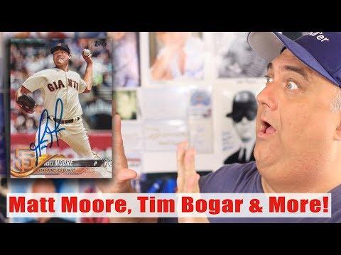 Matt Moore, Tim Bogar and more Autographs Through The Mail TTM!