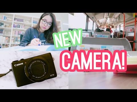 NEW VLOGGING CAMERA?! Canon Powershot G7X I MED SCHOOL STUDENT LIFE l twinklinglena