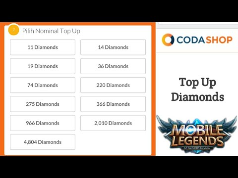 Cara Top Up Diamonds Murah Mobile Legends Dengan Pulsa 3k Dapet
