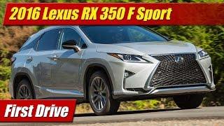 2016 Lexus RX 350 F Sport: First Drive