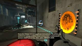 [#1] Portal 2  - Wracamy do testowania - Vertez Let's Play / Zagrajmy w