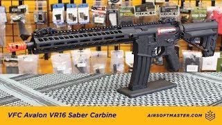 VFC Avalon VR16  Saber Carbine Airsoft Reveiw