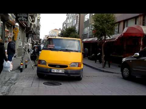 İstanbul Taksi Dolmuş Taşımacılığı Ücret Tarifeleri