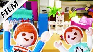 Playmobil Film deutsch | KINDERZIMMER IN KÜCHE - Julian + Emma bauen um | Kinderserie Familie Vogel