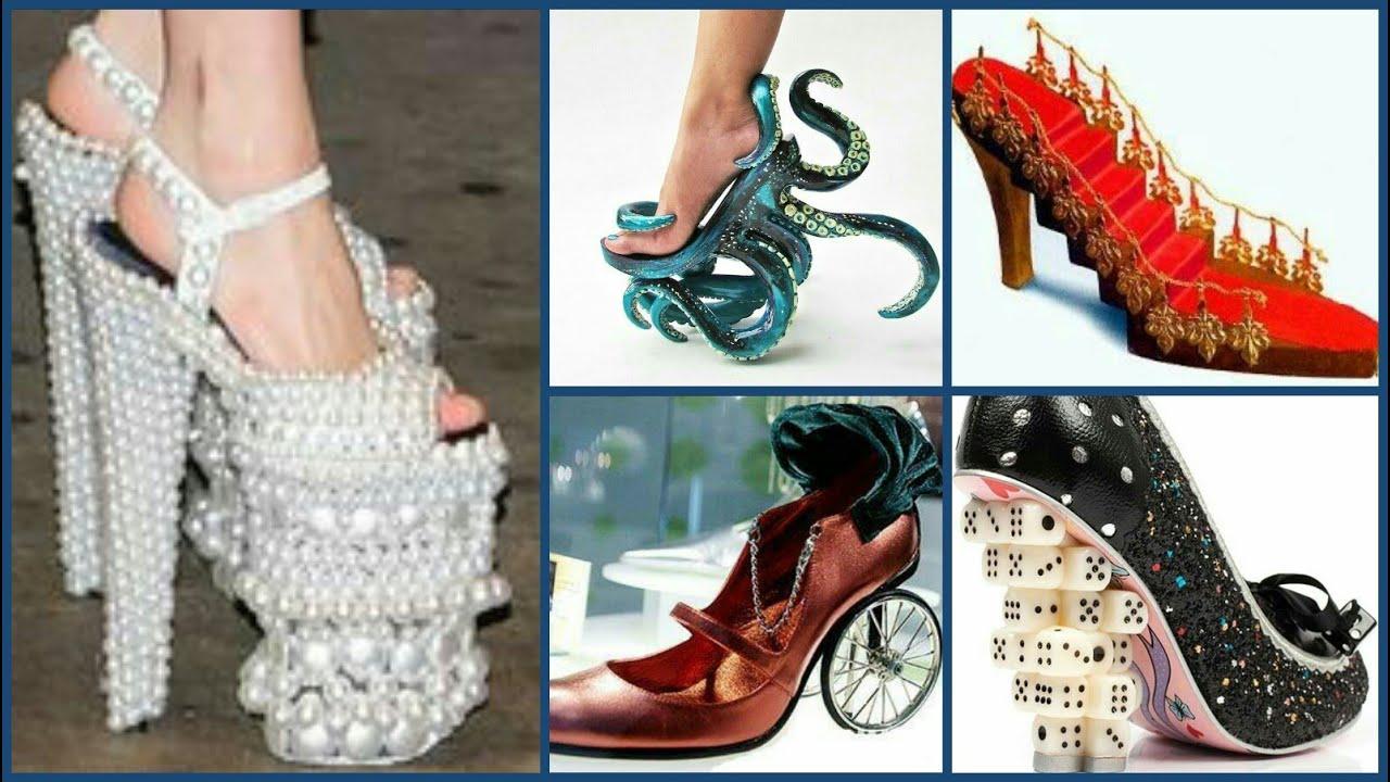 20+ Craziest Shoes Designs #sheos #crazydesigns #bemethat