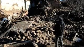 #Elazığ #Deprem Depremde hayatını kaybeden anne ile oğlu son yolculuğuna uğurlandı