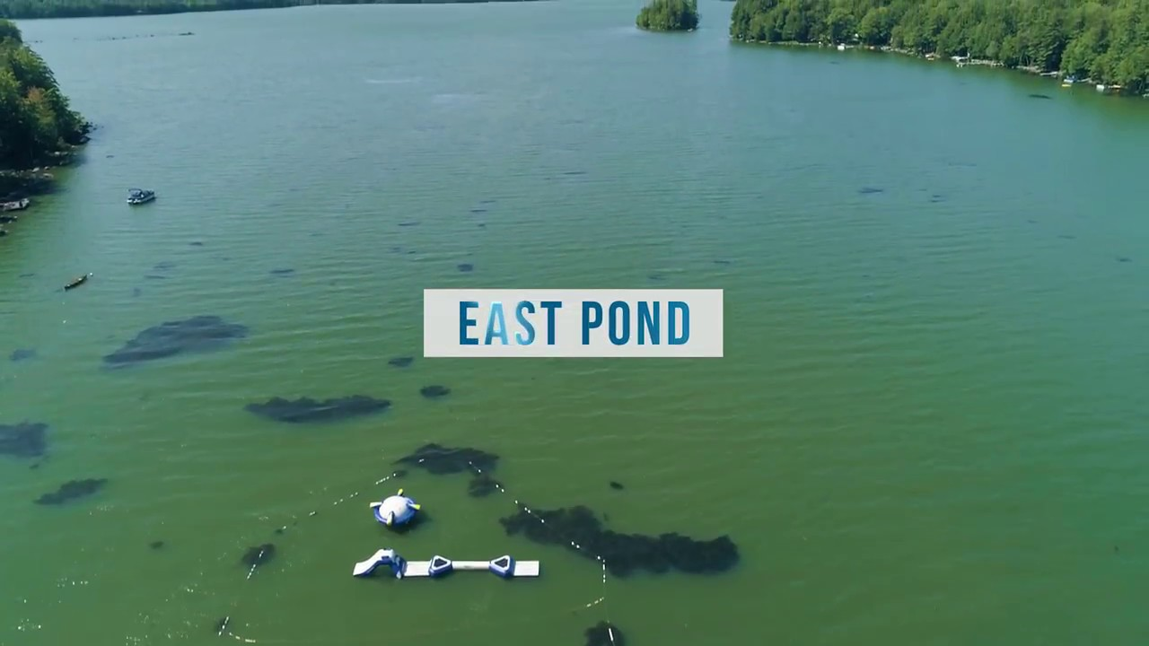 East pond belgrade lakes area smithfield and oakland for Good fishing areas near me