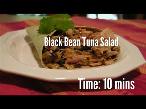 Eco-friendly BLACK BEAN TUNA SALAD