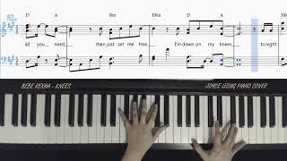 Bebe Rexha - Knees - Piano Cover & Sheets