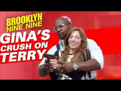 Gina's Crush On Terry | Brooklyn Nine-Nine