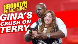 Gina's Crush On Terry   Brooklyn Nine-Nine