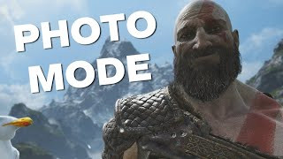 God of War: How Photo Mode Works - First Footage Revealed