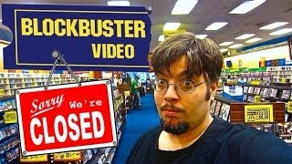 Goodbye Blockbuster Video !!!