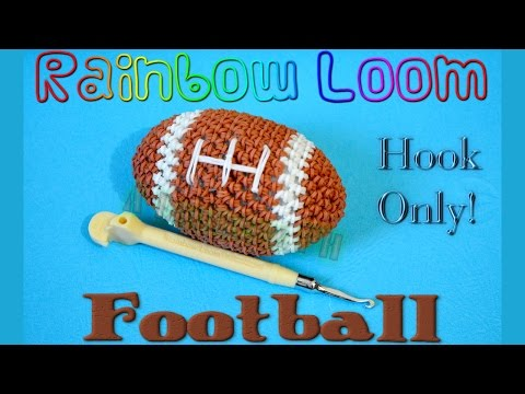 Rainbow Loom Football