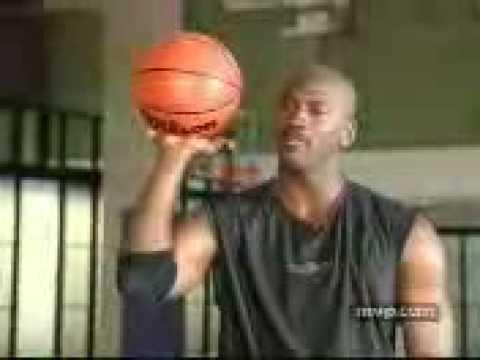 MJ teaches free throw