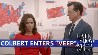 The VEEP/Colbert Crossover Episode