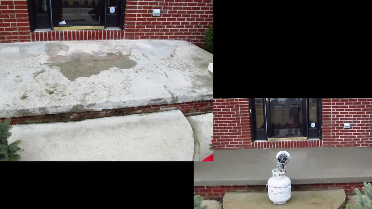 How to resurface concrete concrete pitt repair salt - Exterior concrete resurfacing products ...