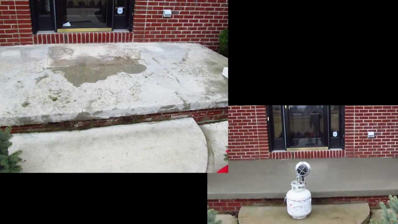 How To Resurface Concrete Concrete Pitt Repair Salt