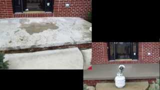 How To Resurface Concrete, Concrete Pitt Repair Salt Damage, Concrete Resurfacing
