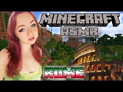 ASMR Minecraft | Romantic Rome