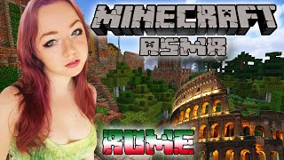 ASMR Minecraft | Romantic Rome