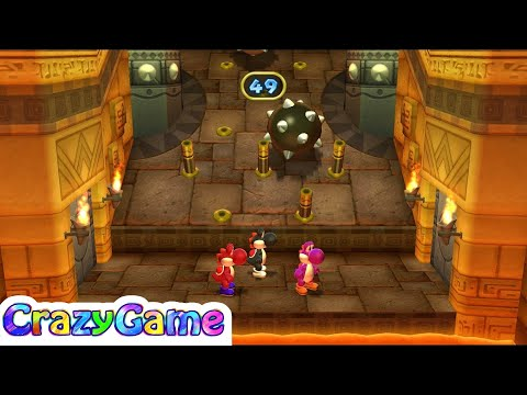 Mario Party 9 Step It Up #130 (Free for All Minigames)