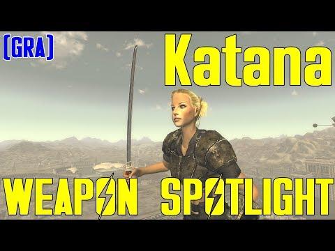 Fallout New Vegas: Weapon Spotlights: Katana (GRA) |