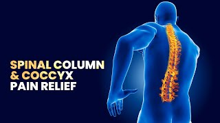 Spinal Column and Coccyx Pain Relief and Healing Binaural beats Musics | Good Vibes