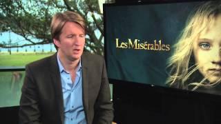 Les Misérables Director Tom Hooper On Hugh Jackman, Russell Crowe, Anne Hathaway, Eddie Redmayne