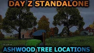 DayZ Standalone:How Ashwood Trees Look and Location / (D.A.T Gamer Tutorial)