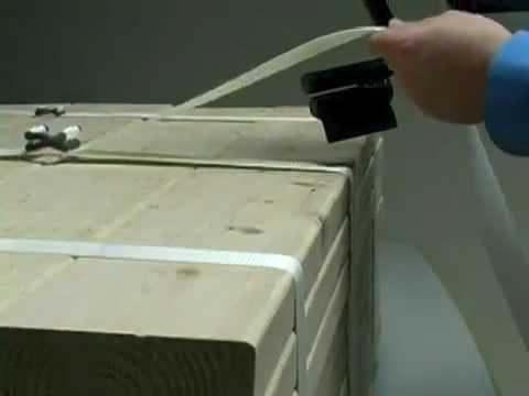 Sistema di bloccaggio per cinghie in poliestere rinforzate for Sistema di filtraggio per laghetto