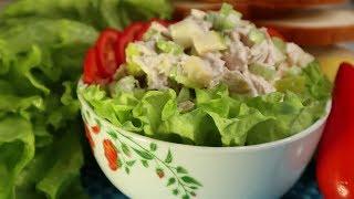 Быстро и вкусно | Салат диетический с индейкой для похудения