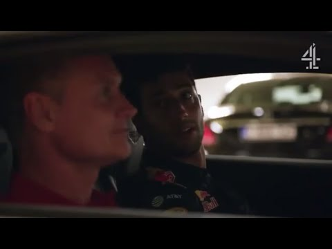 Daniel Ricciardo drives DC to Spa (Channel 4)