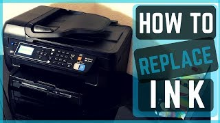 How To Replace Ink Cartridge On An Epson Printer. EASY Instructions! to change ink.