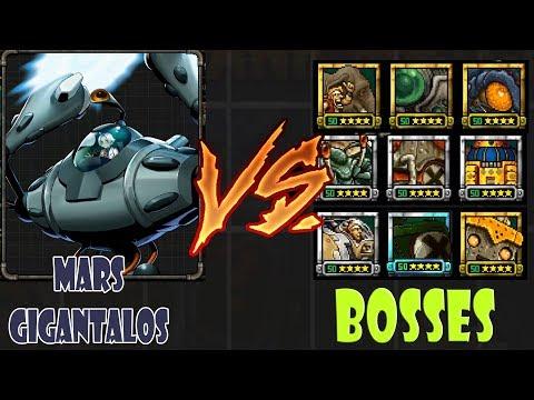 Metal Slug Attack BOX CRANK! MARS GIGANTALOS VS BOSSES ver 3130