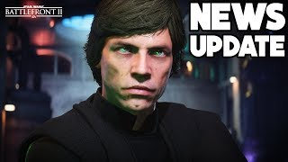 NEWS UPDATE: Luke BUFF, Non-Canon Hero Skins + Big Lightsaber Changes! Star Wars Battlefront 2