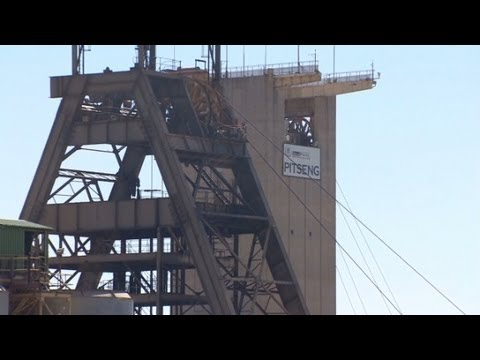 South African gold miners go on strike