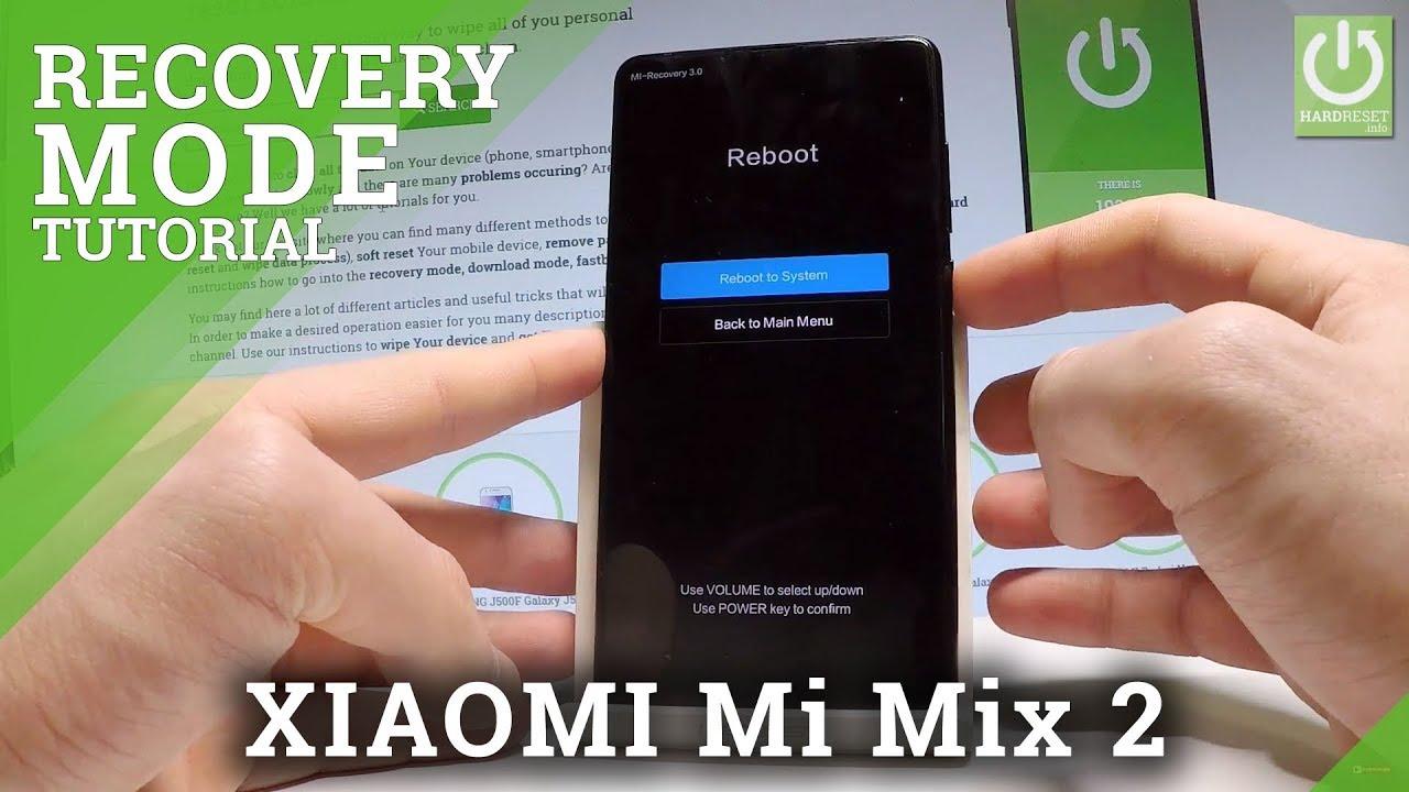 Xiaomi Mi Mix Recovery Mode Videos - Waoweo