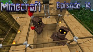 Repeat youtube video Let's Play Minecraft - Episode 14: Making A Villager Farm!