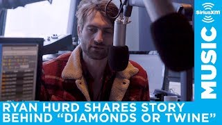 "Ryan Hurd talks about his Maren Morris engagement song, ""Diamonds Or Twine,"" with Storme Warren"
