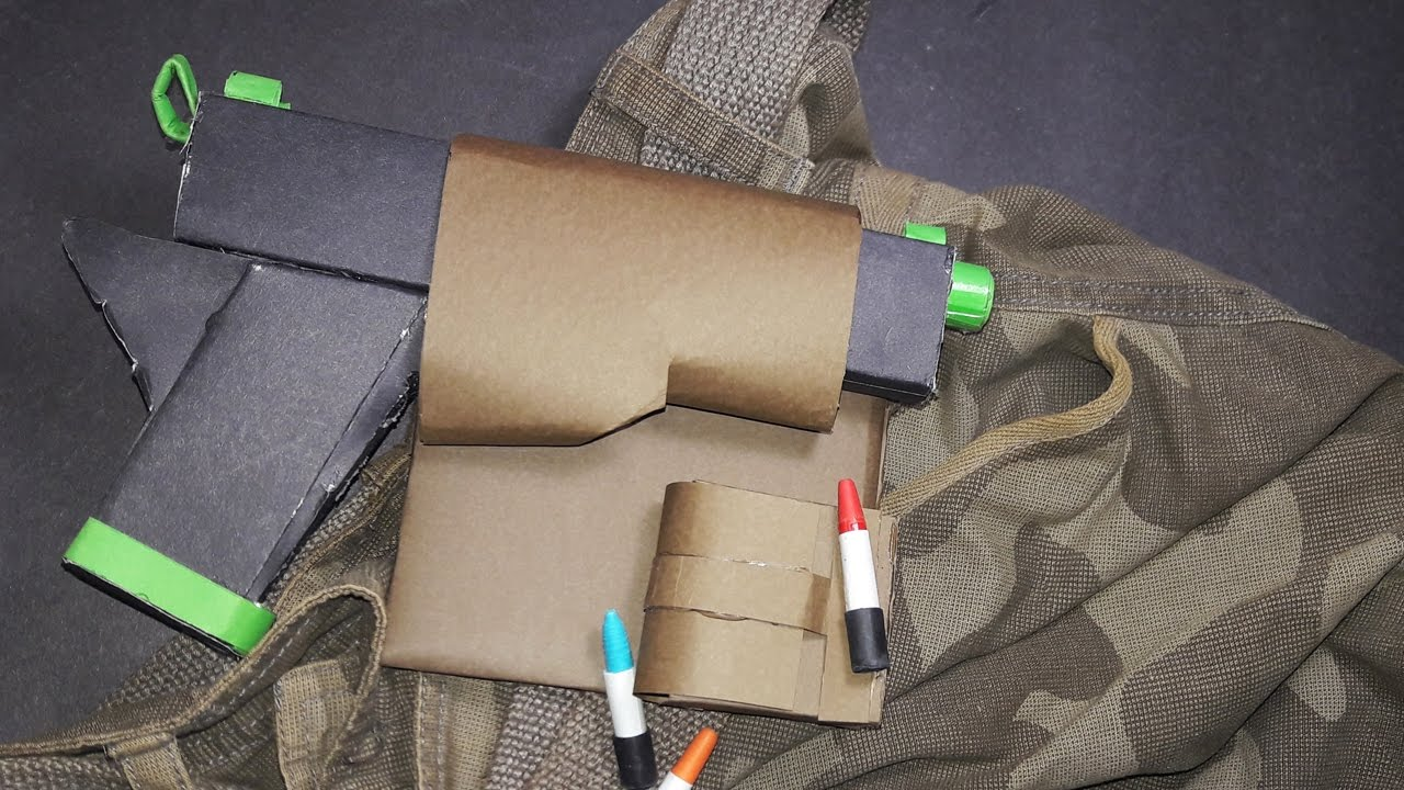 DIY| How To Make a Paper Gun Holster