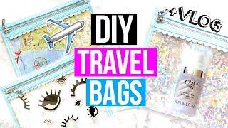 DIY Travel Makeup Bag Decor + Secret Olay Trip!