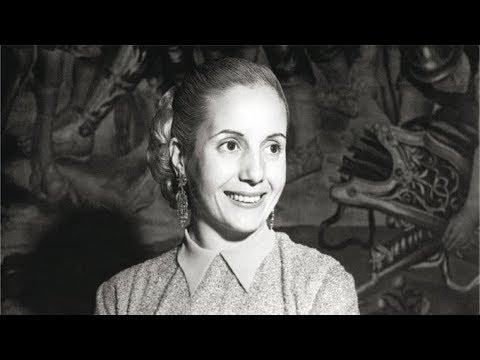 El retorno de Eva Duarte de Perón