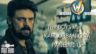 KARl URBAN TALKS ZENA, STAR TREK BEYOND & JUDGE DREDD 2