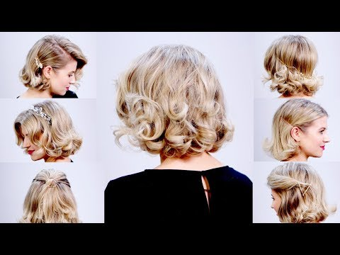 how-to:-soft-retro-waves-and-5-ways-to-accessorize-your-short-hair-|-milabu