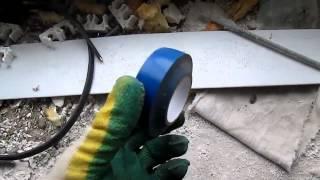 Сантехники резанули пучек кабелей. Ремонт. Ч2(, 2014-09-25T10:34:43.000Z)