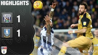West Brom 1 Sheffield Wednesday 1 | Extended highlights | 2018/19