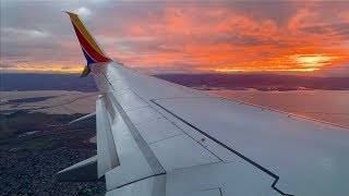 Full Flight – Southwest Airlines – Boeing 737-8H4 – HNL-OAK – N8323C – IFS Ep. 279