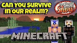 🔴 Part 1: Play In Our Survival Realm  🕶️ Minecraft Stream